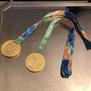 Accessories - Olympics Gold Medals — For Costume